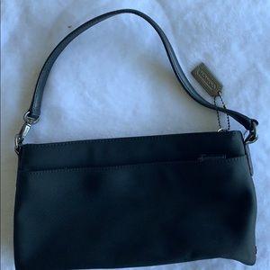 black mini purse/wristlet